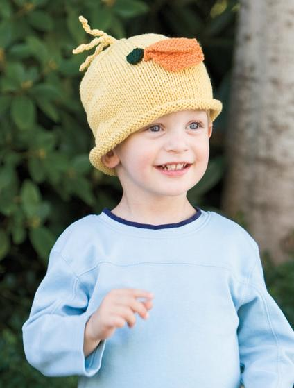 Duck Hat - Knitting Patterns and Crochet Patterns from KnitPicks.com
