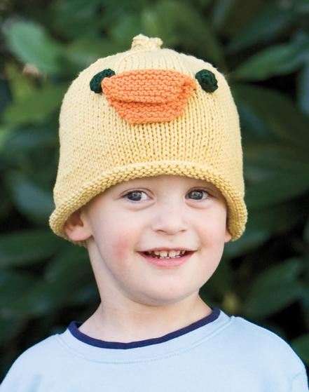 Baby Duck Hat Knitting Pattern : Duck Hat - Knitting Patterns and Crochet Patterns from KnitPicks.com