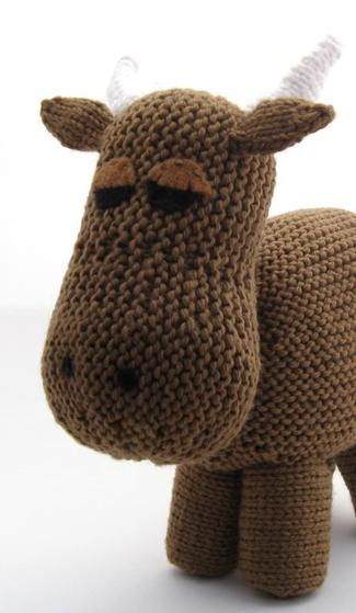 Cow. - Knitting Patterns and Crochet Patterns from KnitPicks.com