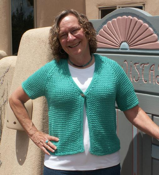 Easy Breezy Short Sleeve Cardigan - Knitting Patterns and Crochet ...