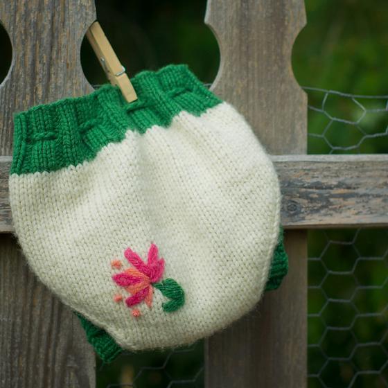 Knit Wool Soaker Pattern : Pumpkin Patch Wool Diaper Soaker - Knitting Patterns and Crochet Patterns fro...
