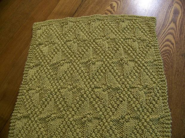 Knitting Pattern For Reversible Scarf : Really Reversible Towels - Knitting Patterns and Crochet ...