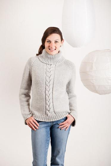 Knitting Pattern Weekend Cardigan : Cozy Weekend Sweater - Knitting Patterns and Crochet Patterns from KnitPicks.com