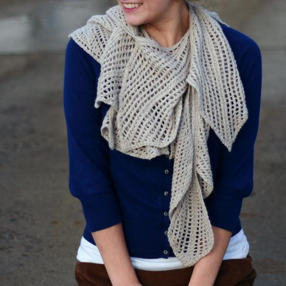 Vine Leaf Knitting Pattern : Vine Scarf - Knitting Patterns and Crochet Patterns from ...
