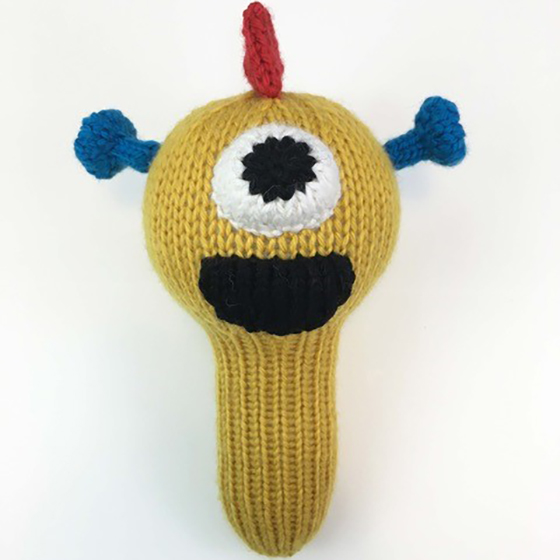 Monster Rattles - Knitting Patterns and Crochet Patterns from KnitPicks.com