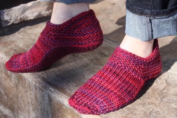 Knitting On The Net Slippers : Quot options slippers for women knitting patterns and