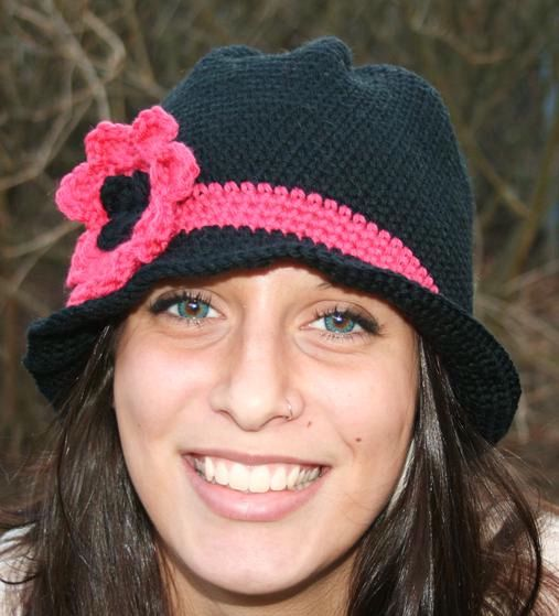 Knit Hat Pattern Free Brim : Flare Brim Hat - Knitting Patterns and Crochet Patterns ...
