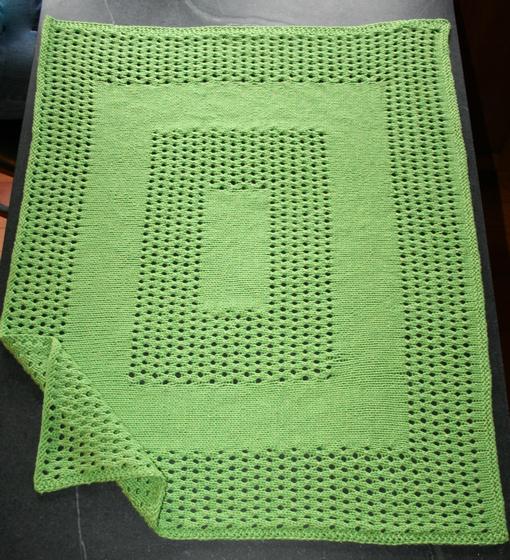 Knit Picky Patterns Baby Blankets : Bedford Baby Blanket - Knitting Patterns and Crochet Patterns from KnitPicks.com