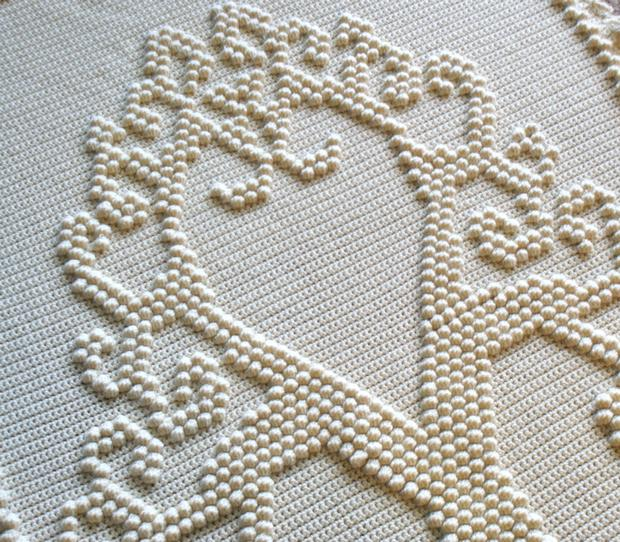 Tree of Love Heirloom Crochet Afghan - Knitting Patterns and Crochet Patterns...