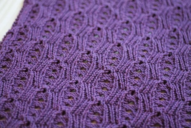Knit Picky Patterns Baby Blankets : Kari Baby Blanket - Knitting Patterns and Crochet Patterns from KnitPicks.com