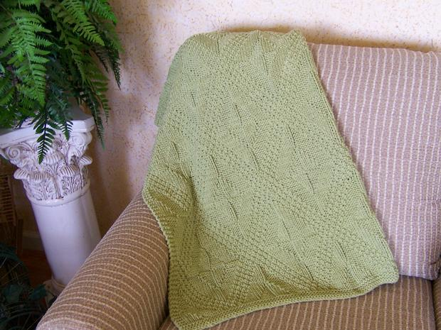Really Reversible Bath Mat, Baby Blanket & Afghan - Knitting Patterns and...