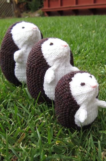 Hedgehog Family - Knitting Patterns and Crochet Patterns ...