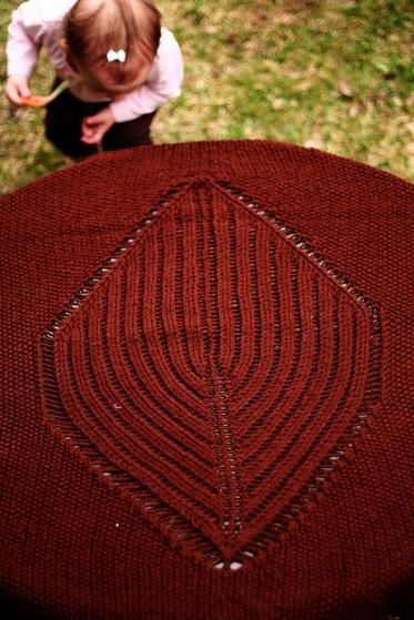 Large Leaf Knitting Pattern : Big Leaf Baby Blanket - Knitting Patterns and Crochet Patterns from KnitPicks...