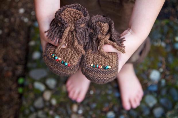Tum Tum Moccasins - Knitting Patterns and Crochet Patterns ...