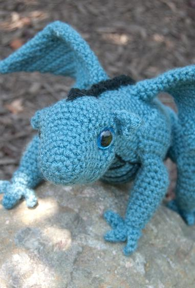 Crochet Dragon : Amigurumi Baby Dragon for Crochet - Knitting Patterns and Crochet ...