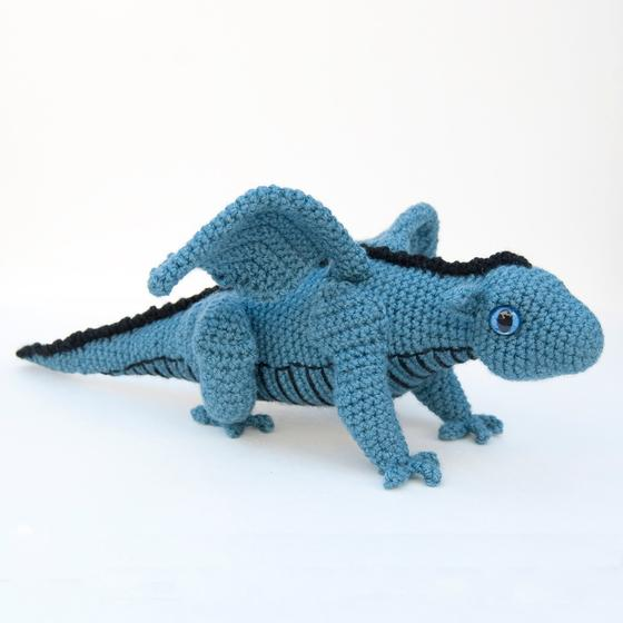 Baby Dragon Amigurumi Pattern : Amigurumi Baby Dragon for Crochet - Knitting Patterns and ...