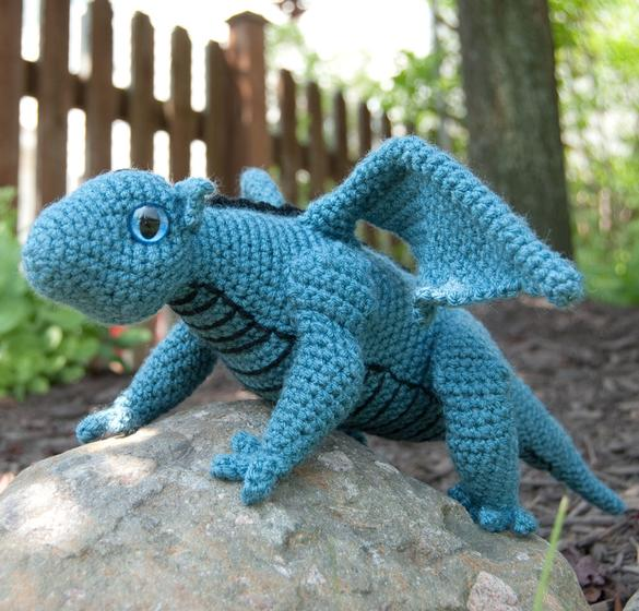 Amigurumi Baby Dragon for Crochet - Knitting Patterns and ...