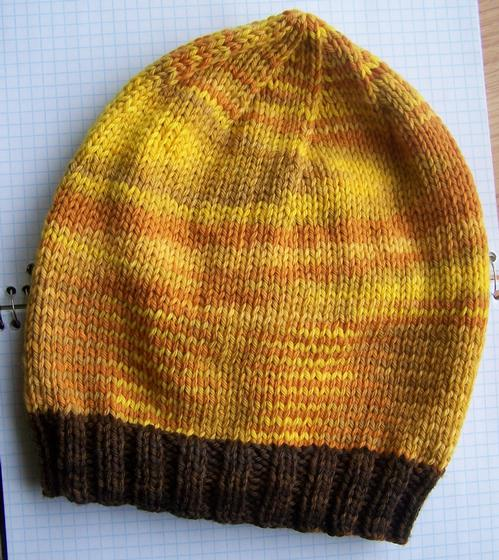 Button-Down Slouch Hat - Knitting Patterns and Crochet ...
