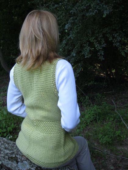 Shawl Collar Embrace Vest - Knitting Patterns and Crochet ...