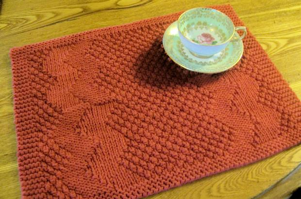 Crochet Placemats : Placemats & Table Runners Collection - Knitting Patterns and Crochet ...