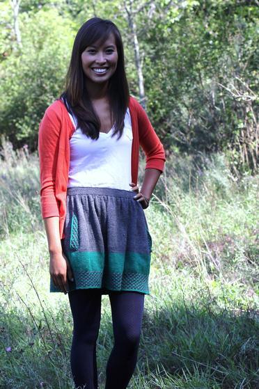 Knitting Skirt Girl : New girl skirt knitting patterns and crochet