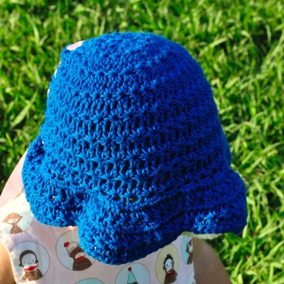 Thandie Star Stitch Crochet Sun Bonnet - Knitting Patterns and Crochet ...