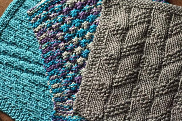Knitting Amp Crochet Patterns Free Download : Kitchen knitted dishcloth knitting patterns and