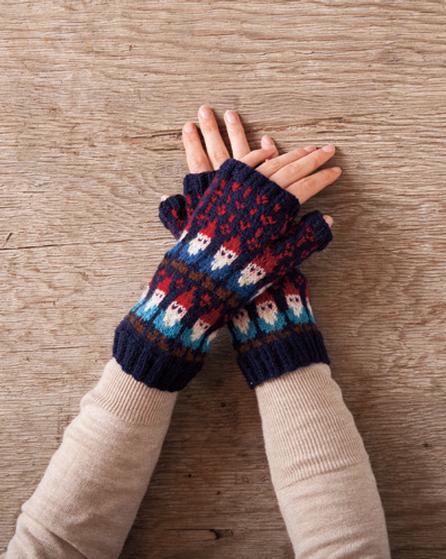 Gnome Knitting Pattern : Gnome Mittens - Knitting Patterns and Crochet Patterns from KnitPicks.com