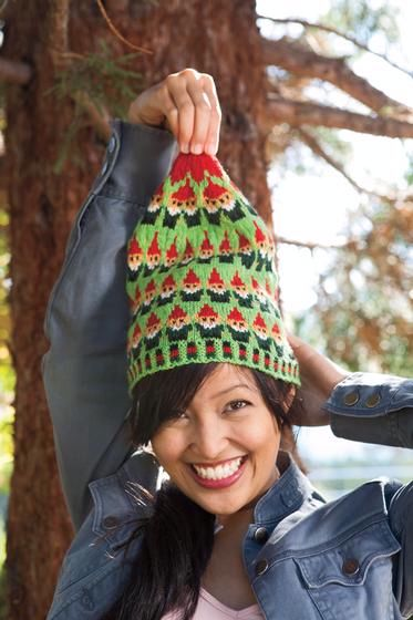 Santa's Elves Stocking Cap - Knitting Pattern