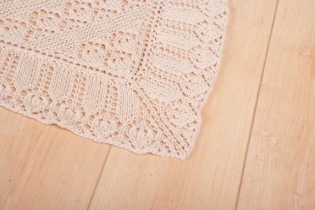 Christening Blanket Knitting Pattern : Baby Counterpane Christening Blanket - Knitting Patterns and Crochet Patterns...
