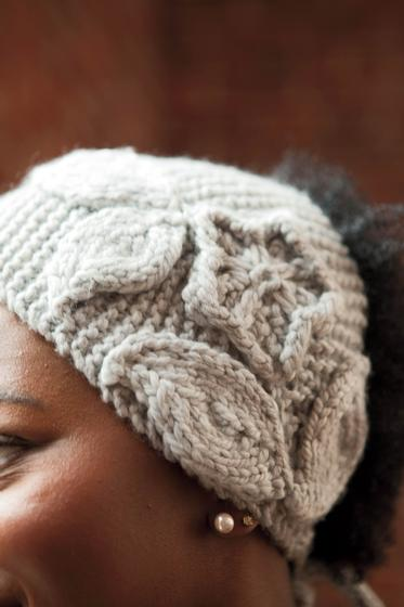 Beginner Ear Warmer Knitting Pattern : Mountain Laurel Ear Warmer - Knitting Patterns and Crochet ...