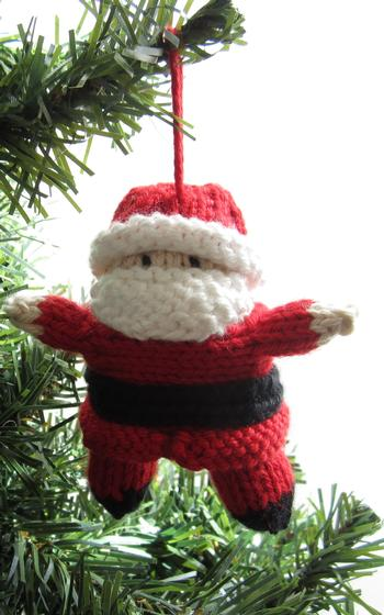 Tiny Santa and Christmas Fairy - Knitting Patterns and Crochet Patterns from ...