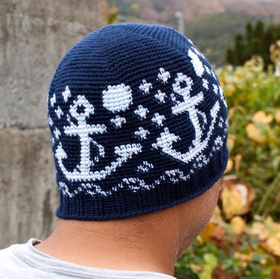 Ages Nautical Nights Crochet Beanie - Knitting Patterns and Crochet ...