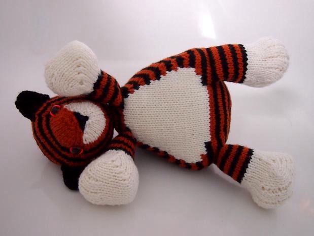 Tubby Tiger - Knitting Patterns and Crochet Patterns from KnitPicks.com
