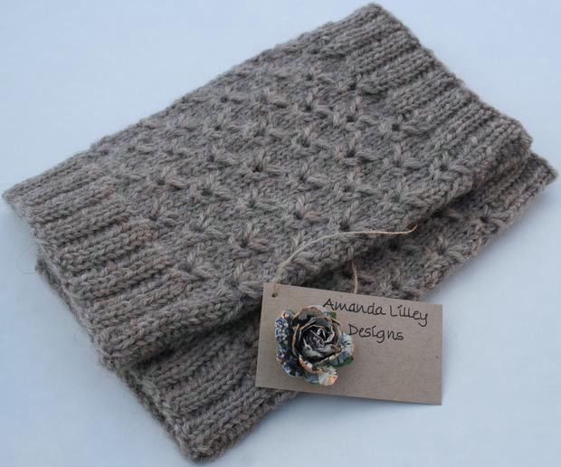 Lace Boot Toppers - Knitting Patterns and Crochet Patterns from KnitPicks.com