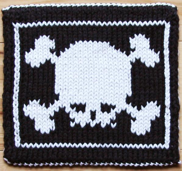 Pot Holder Knitting Pattern : X Marks the Pot(holder) - Knitting Patterns and Crochet Patterns from KnitPic...