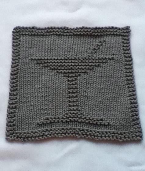Dishcloth Knitting Pattern Books : Bottoms Up Dishcloth Set - Knitting Patterns and Crochet ...