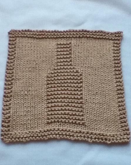 Bottoms Up Dishcloth Set - Knitting Patterns and Crochet ...