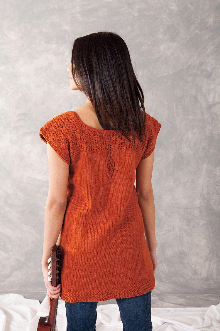 Aniron Tunic Pattern - Knitting Patterns and Crochet Patterns from KnitPicks.com