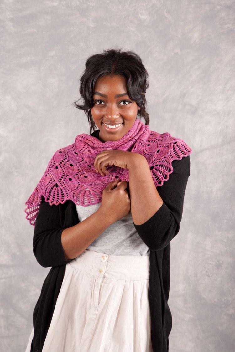 Crochet Pattern Rosslyn : Arlington Shawl Pattern - Knitting Patterns and Crochet ...