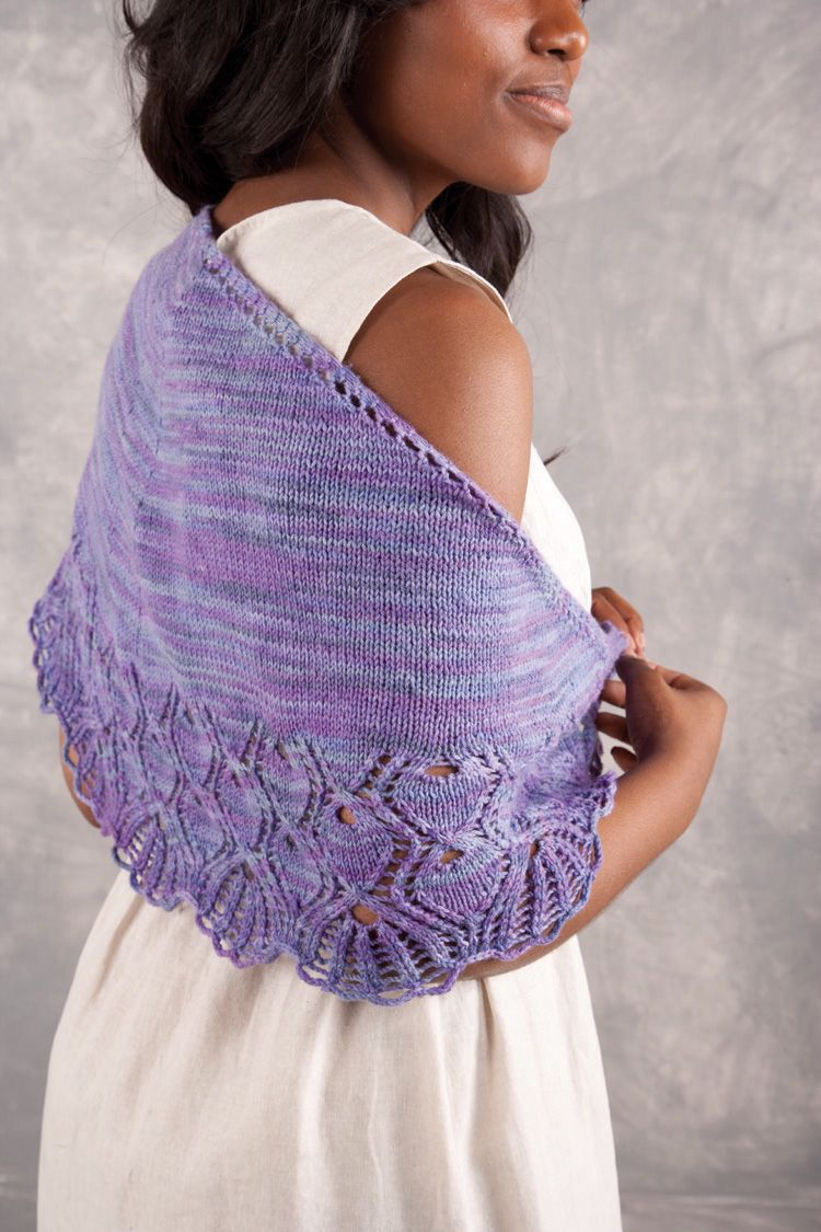Crochet Pattern Rosslyn : Arlington Shawl Pattern - Knitting Patterns and Crochet ...