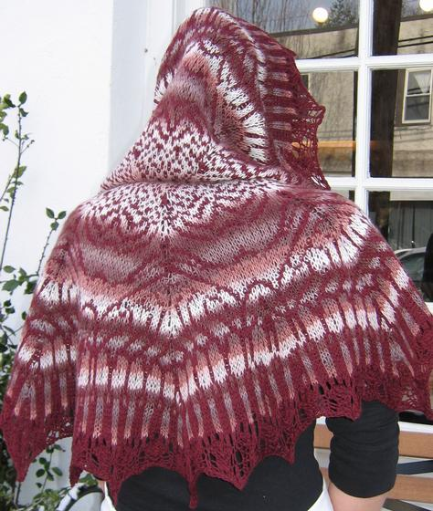 Stranded Knitting Patterns : Wendy P Stranded Shawl - Knitting Patterns and Crochet Patterns from KnitPick...