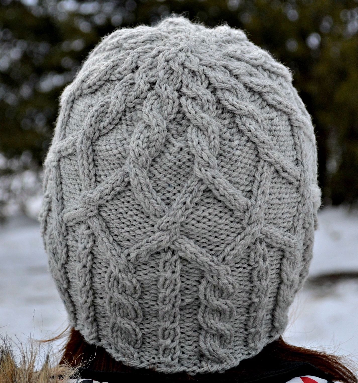Knitting Pattern Books Hats : Merrick Hat Pattern - Knitting Patterns and Crochet ...