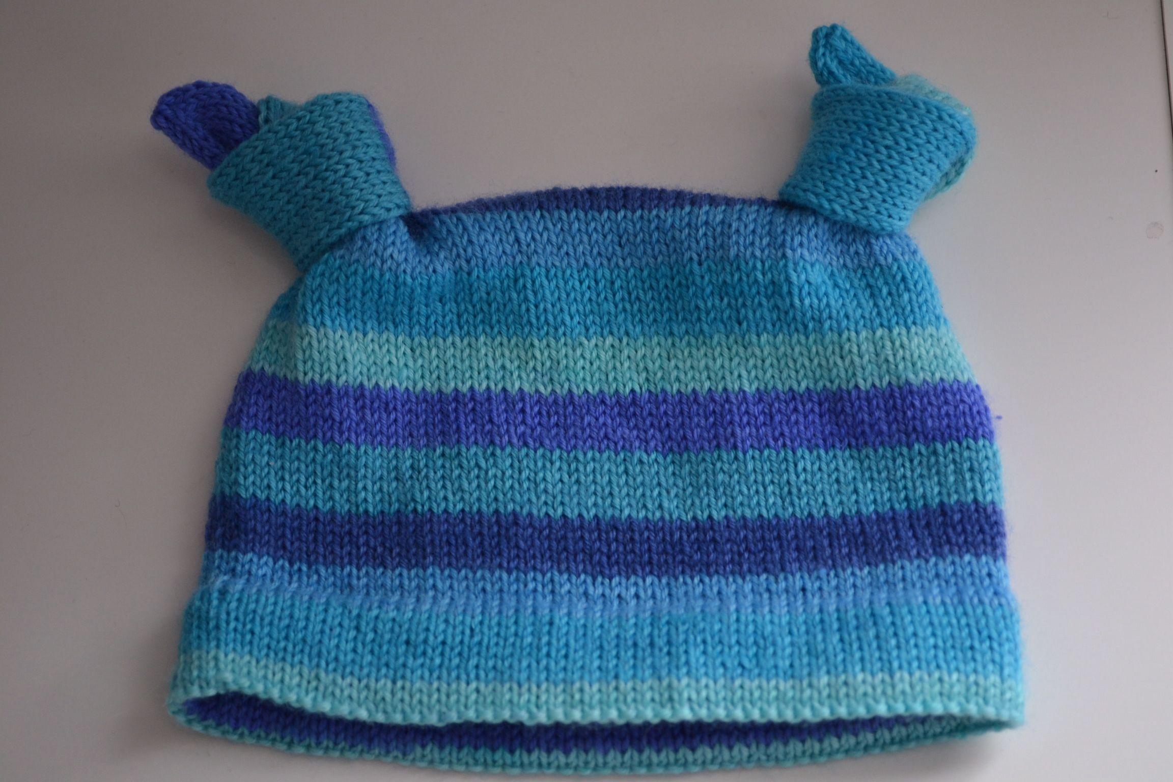 Knitting Knotty : Knotty baby hat pattern knitting patterns and crochet