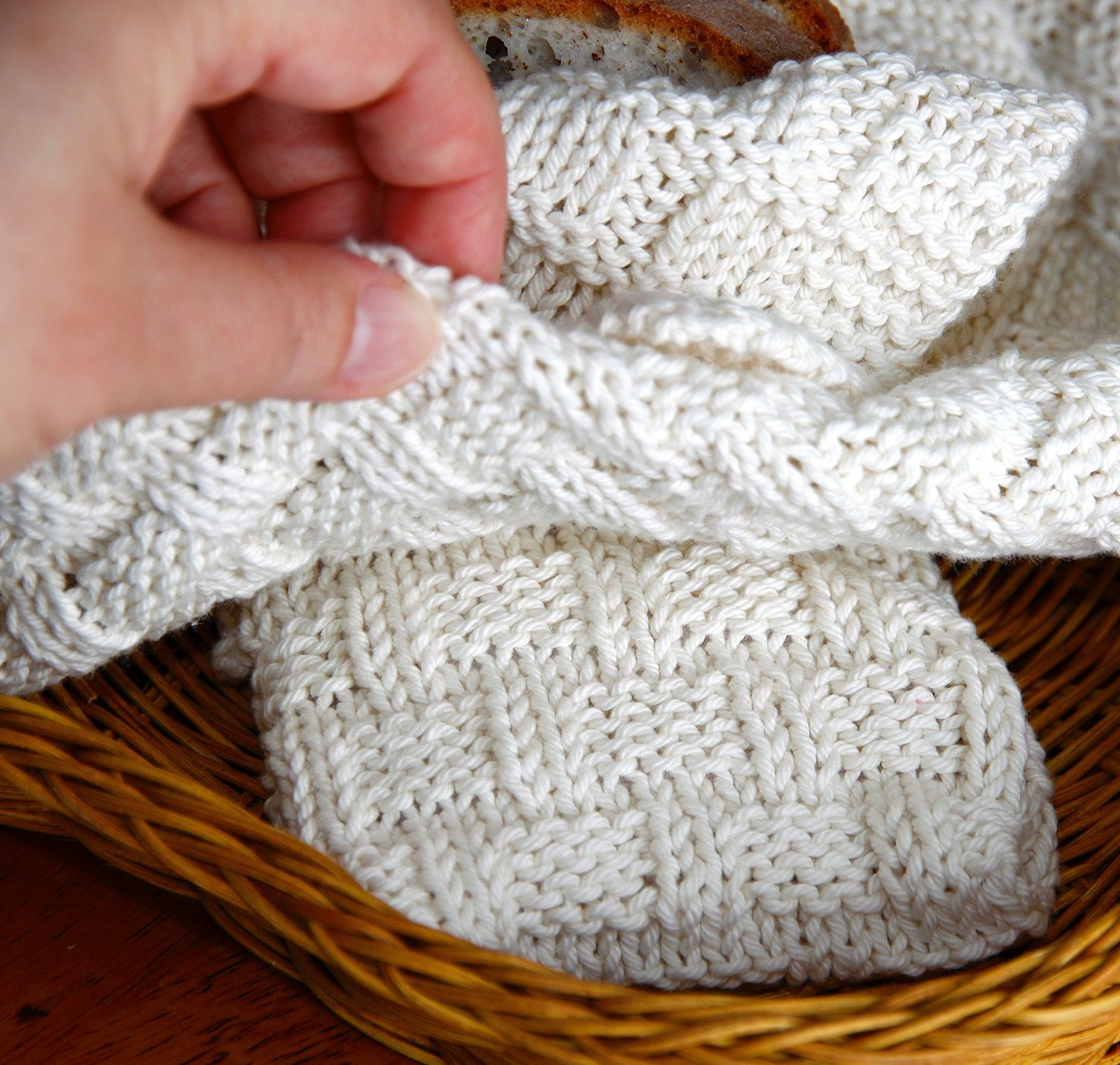 At Home Dining: Bread Basket Cloth & Warming Companion ...