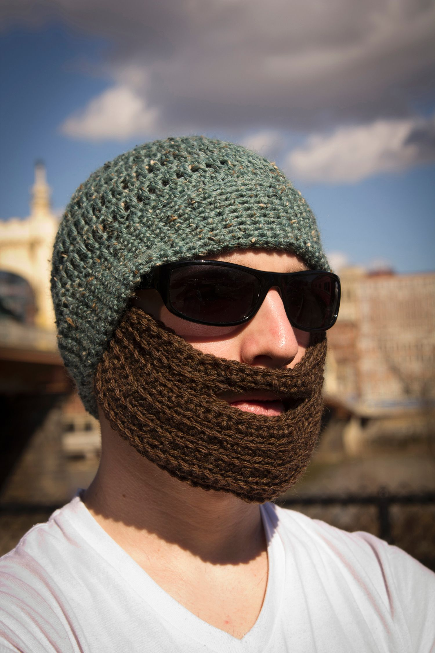 Crochet bearded hat knitting patterns and crochet patterns from crochet bearded hat bankloansurffo Images