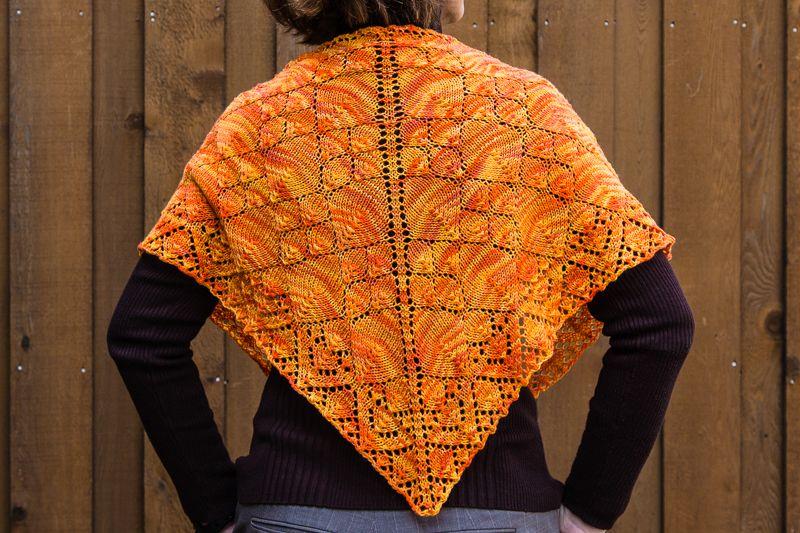 Knitting Pattern Keeper : Flame Keeper Shawl Pattern - Knitting Patterns and Crochet ...