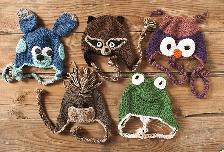 Crochet Animal Hats Patterns Free Image Collections Knitting