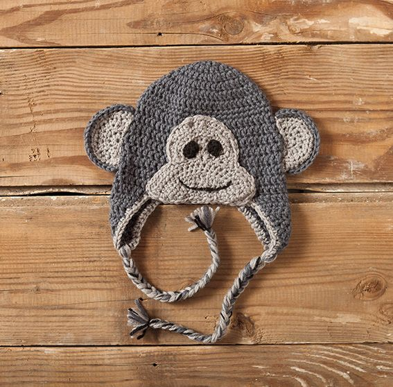 Knitting Patterns Hats Animals : Crochet Zoo of Animals Hats Pattern - Knitting Patterns and Crochet Patterns ...