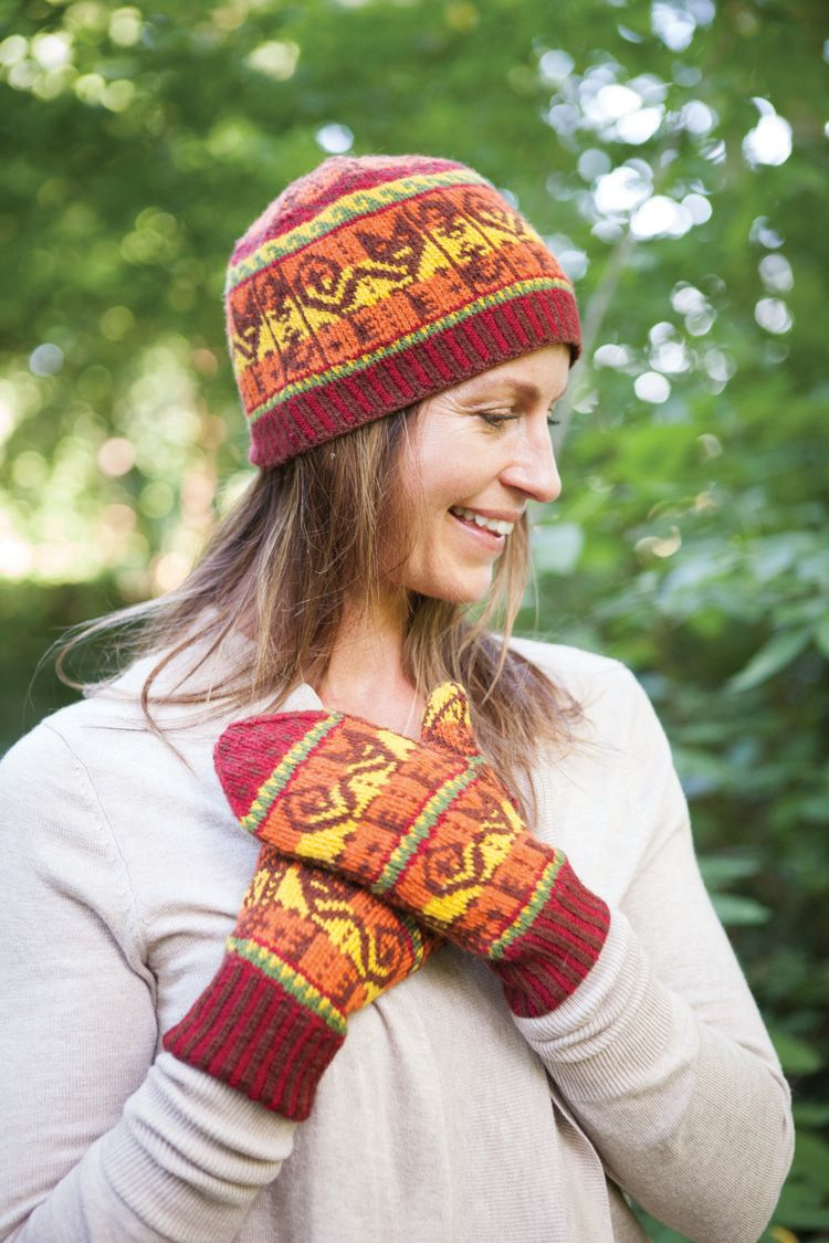 Inca Knitting Patterns : Inca Cat Hat Pattern - Knitting Patterns and Crochet Patterns from KnitPicks.com